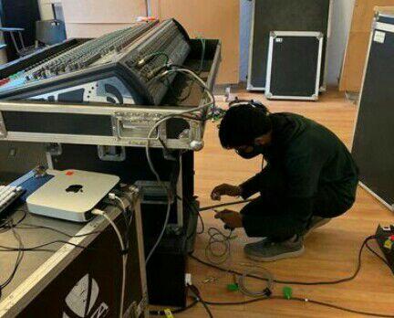 assistência técnica mesa de som
