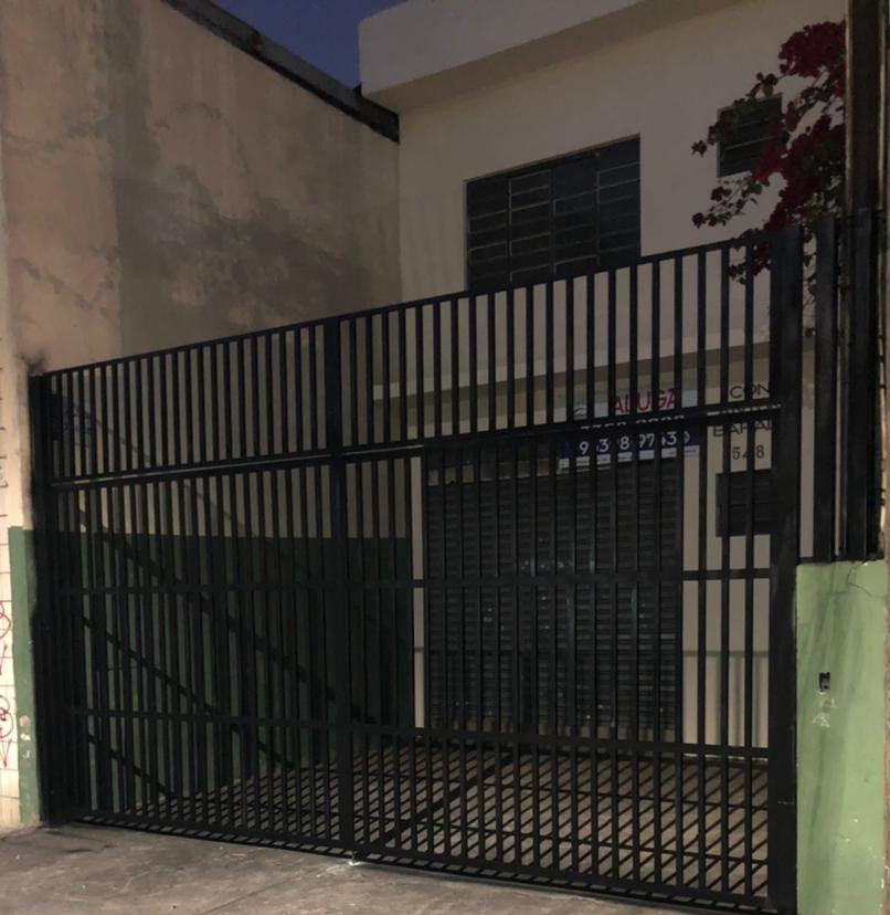 portão simples articulado