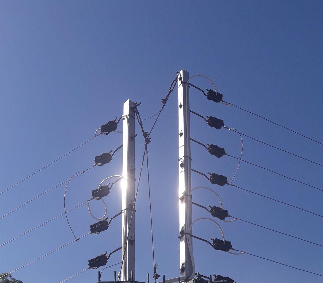 Cerca elétrica indústrial