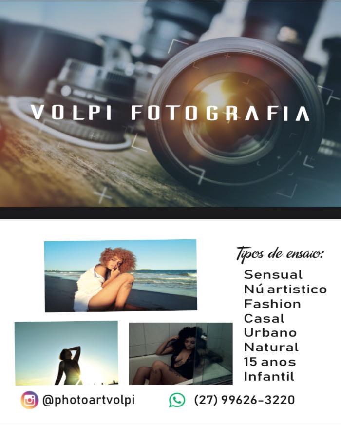 Cartão de Visita Volpi Fotografia
