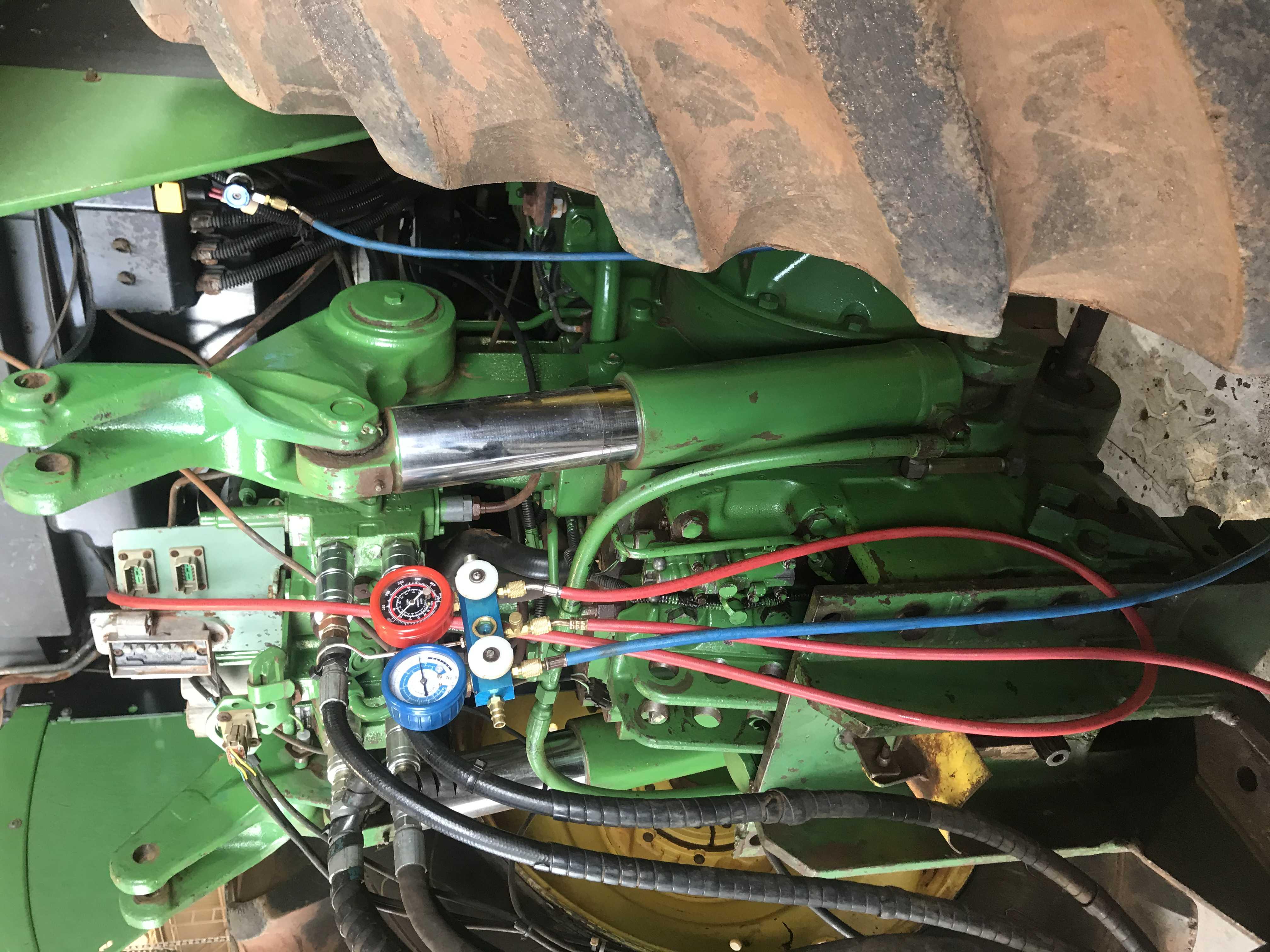 Manutenção ar condicionado automotivo (Trator)