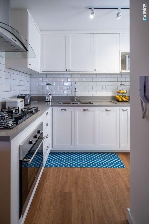 Interiores, iluminação e mobília para apartamento