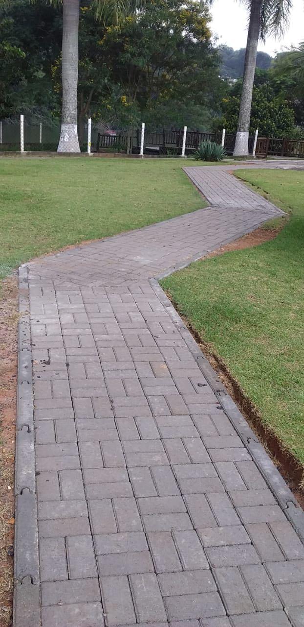 Calçada de jardim
