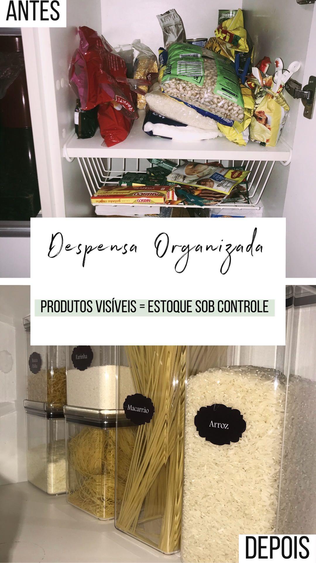 Despensa organizada