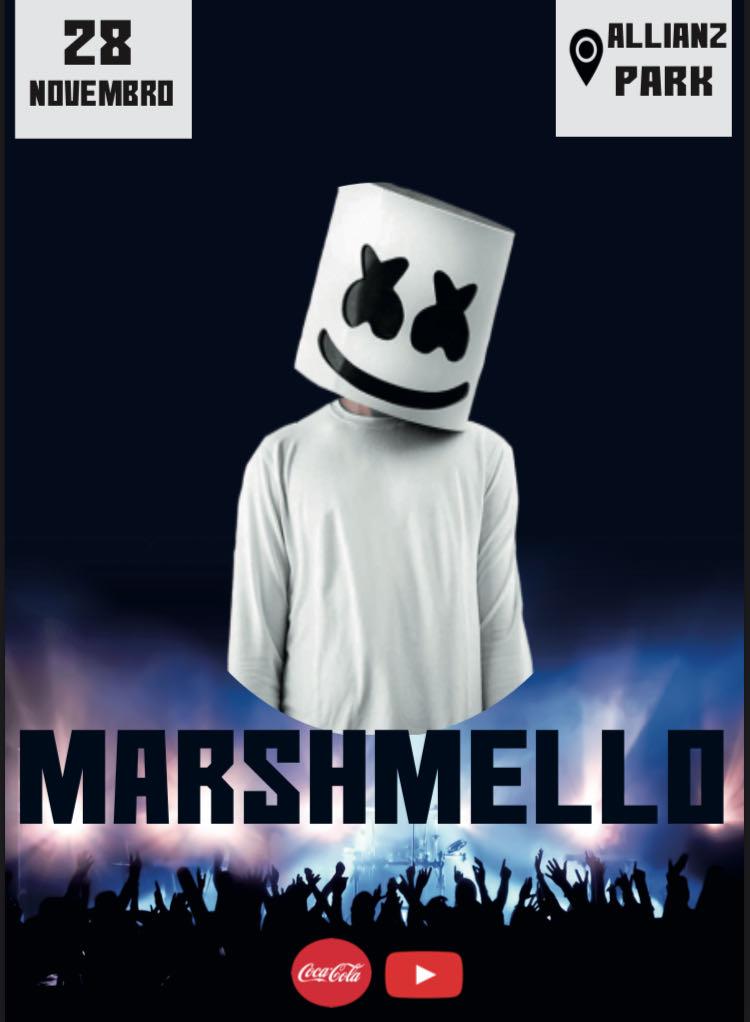 Flyer Marshmello