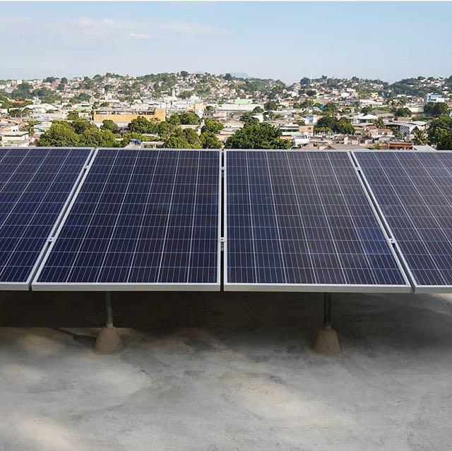 Sistema solar residencial.