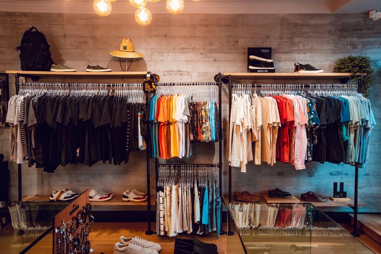 Loja de roupas masculinas