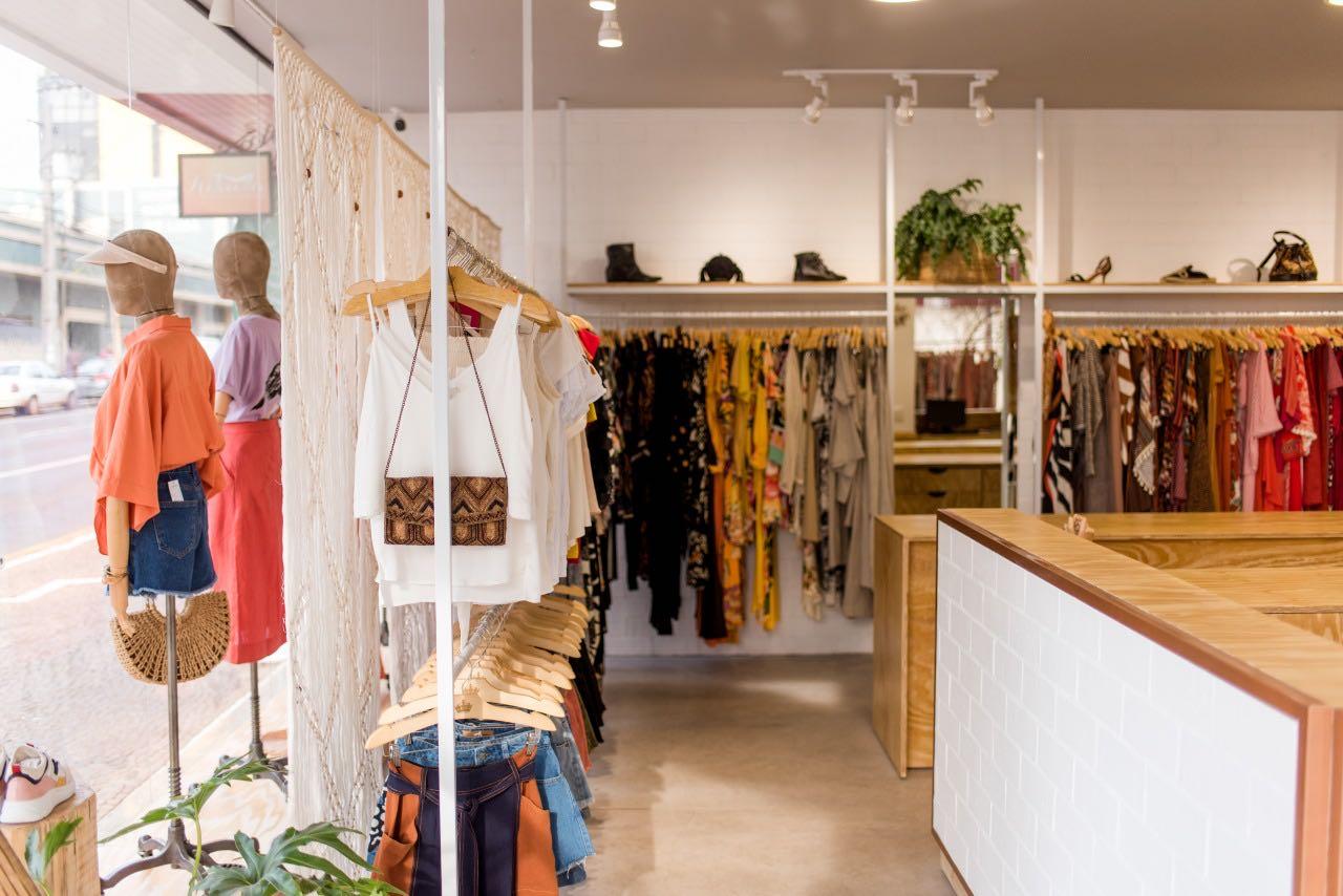 Projeto para loja de roupas femininas