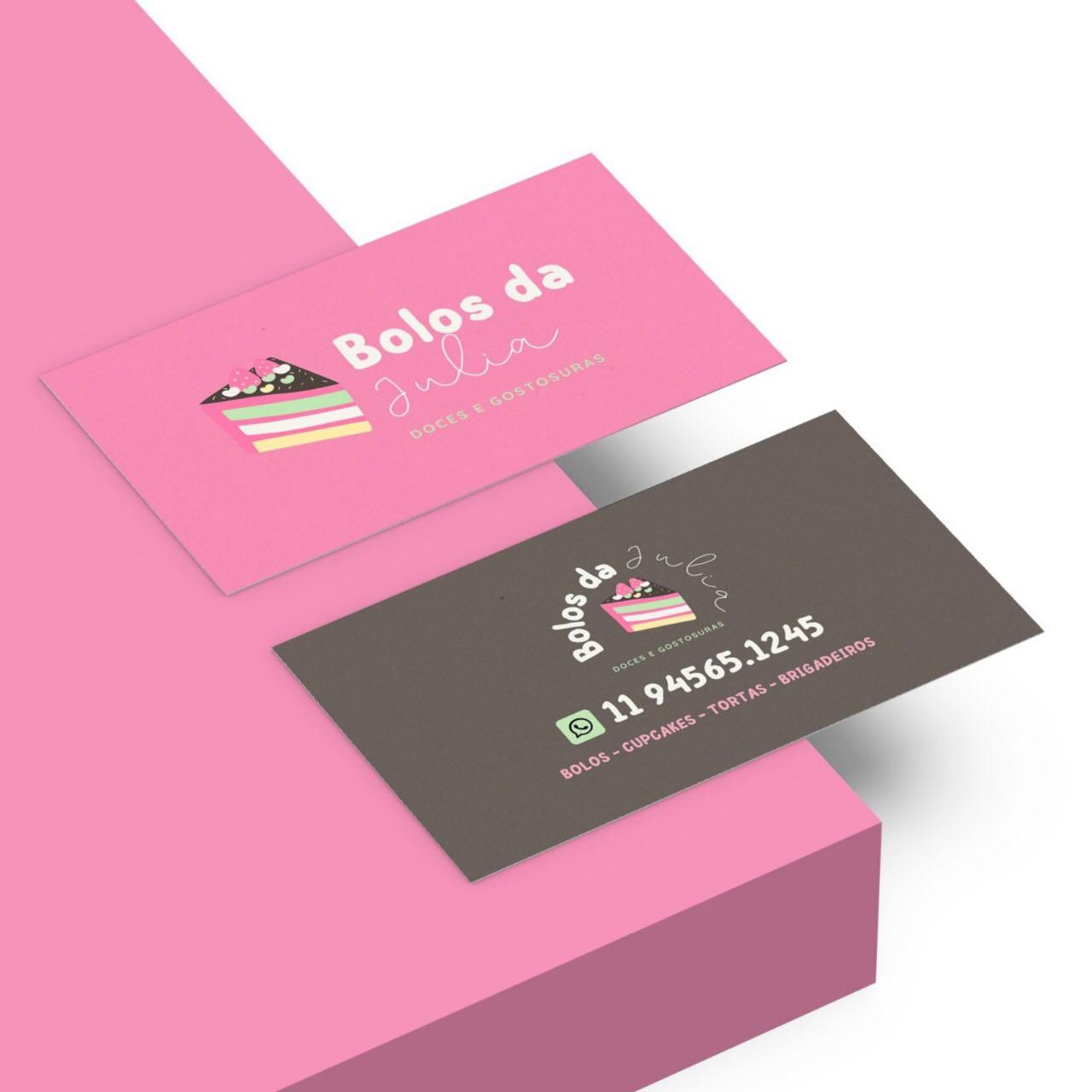 Cartão de visita - Bolos e Doces