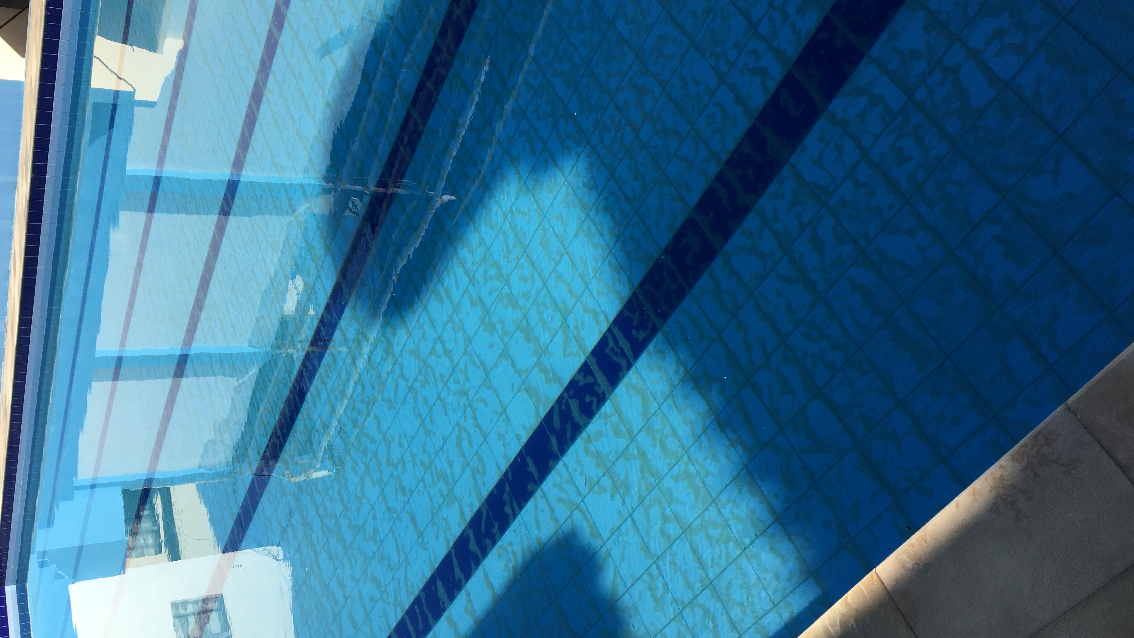 Manutenção piscina semi-olímpica (colégio Primus)