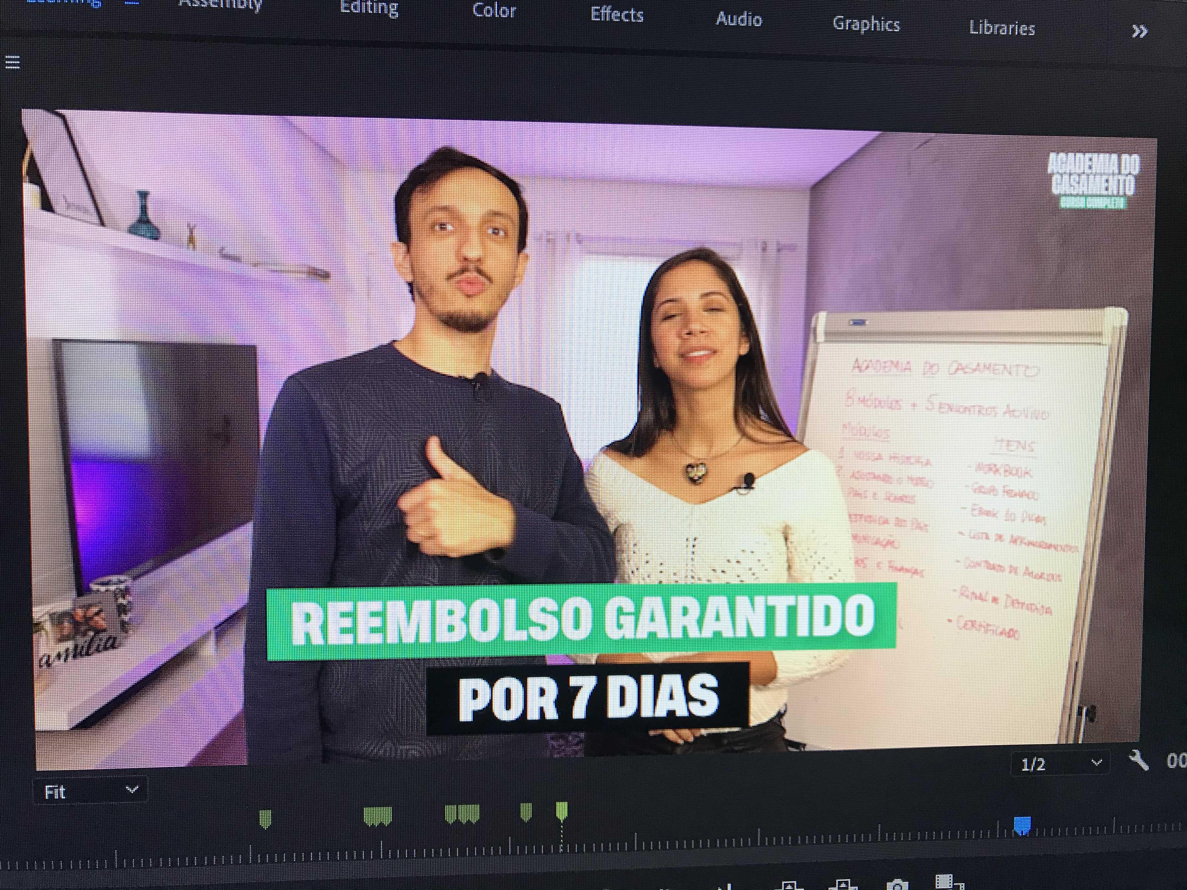 Edição de Vídeo - Lançamento Digital