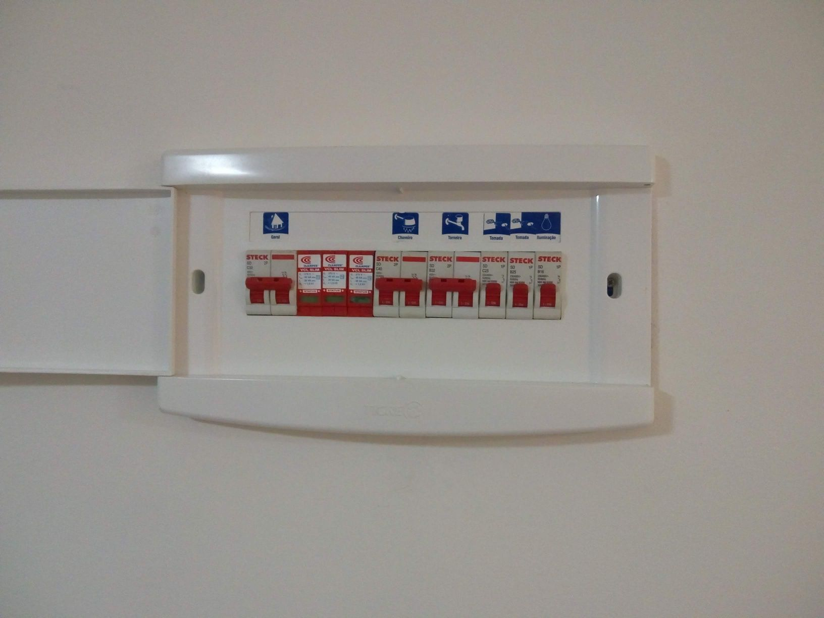QDC instalado com DPS