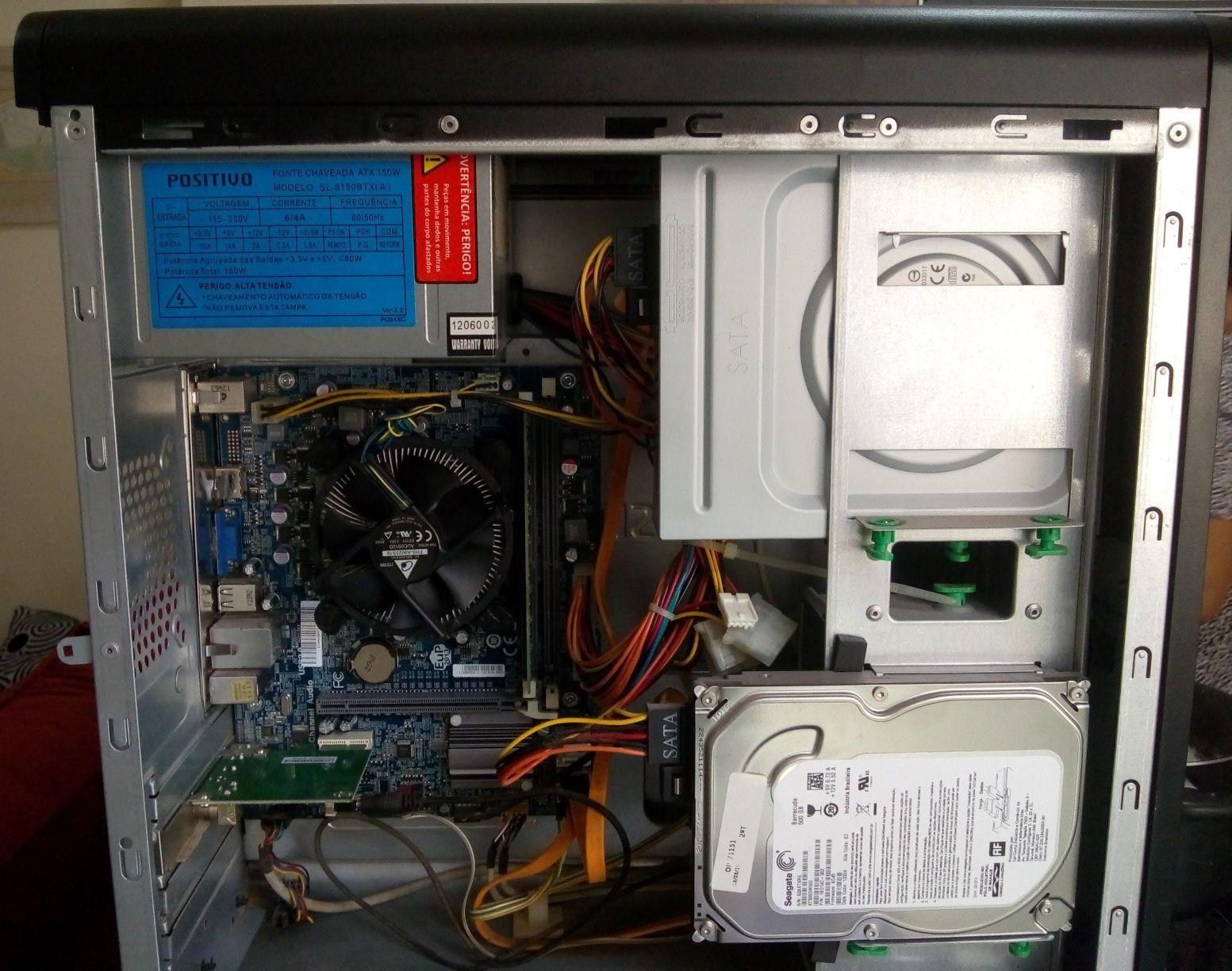 limpeza de equipamento reposição de pasta térmica