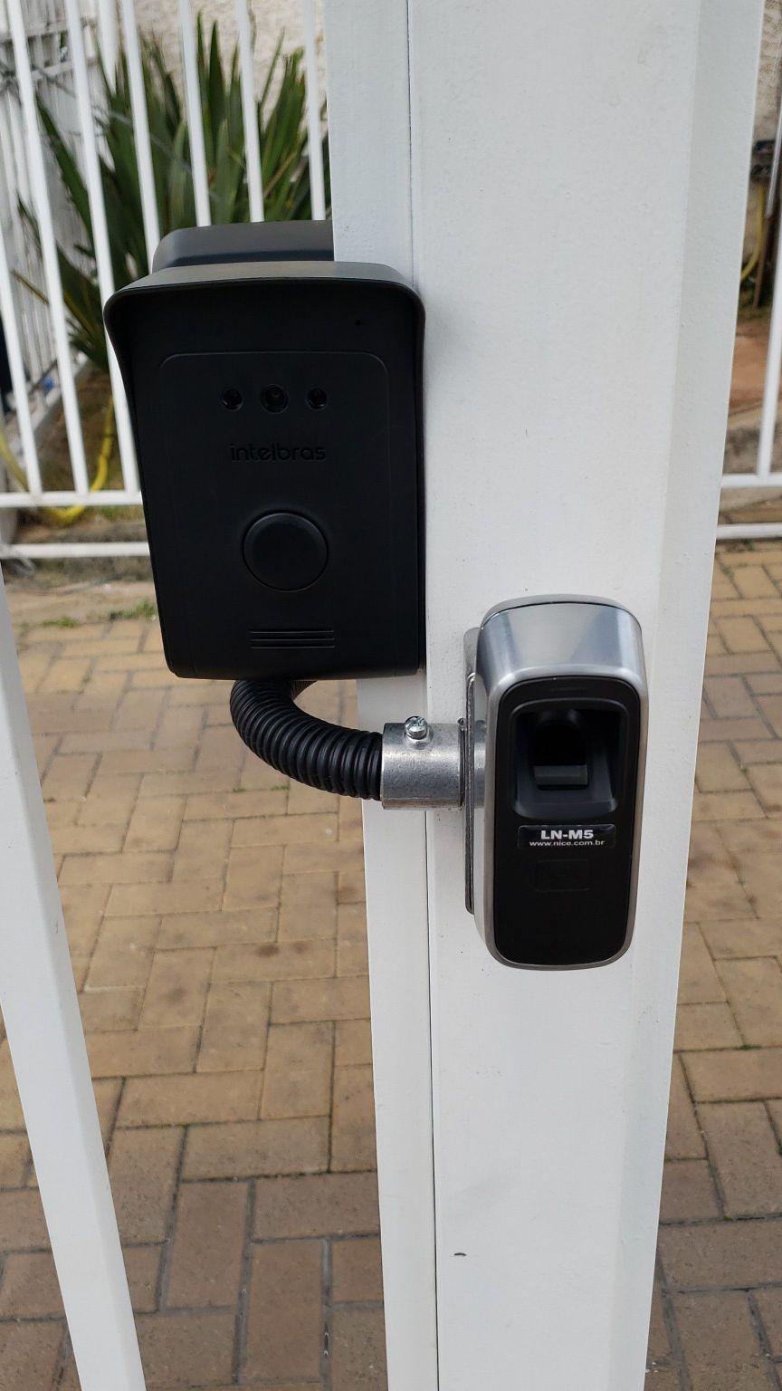 interfone, mais biometria