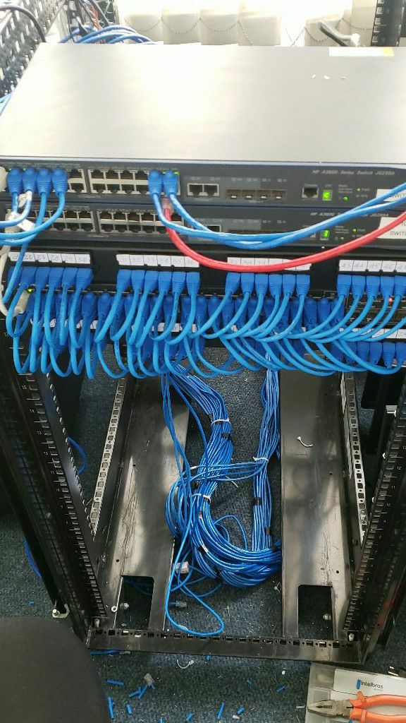 montagem de rack