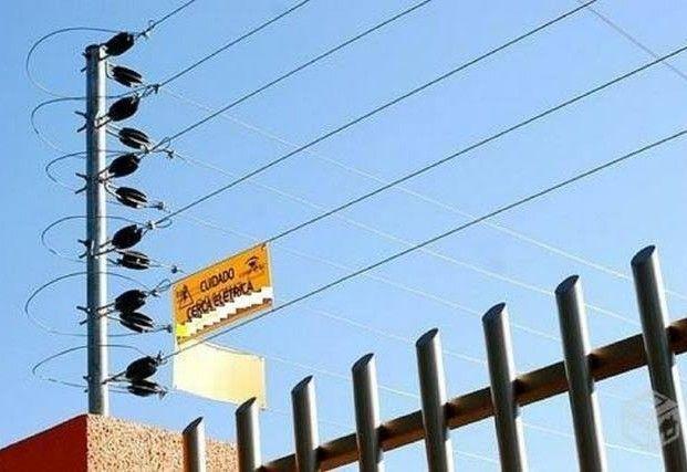 cerca elétrica ( residências e comércios)