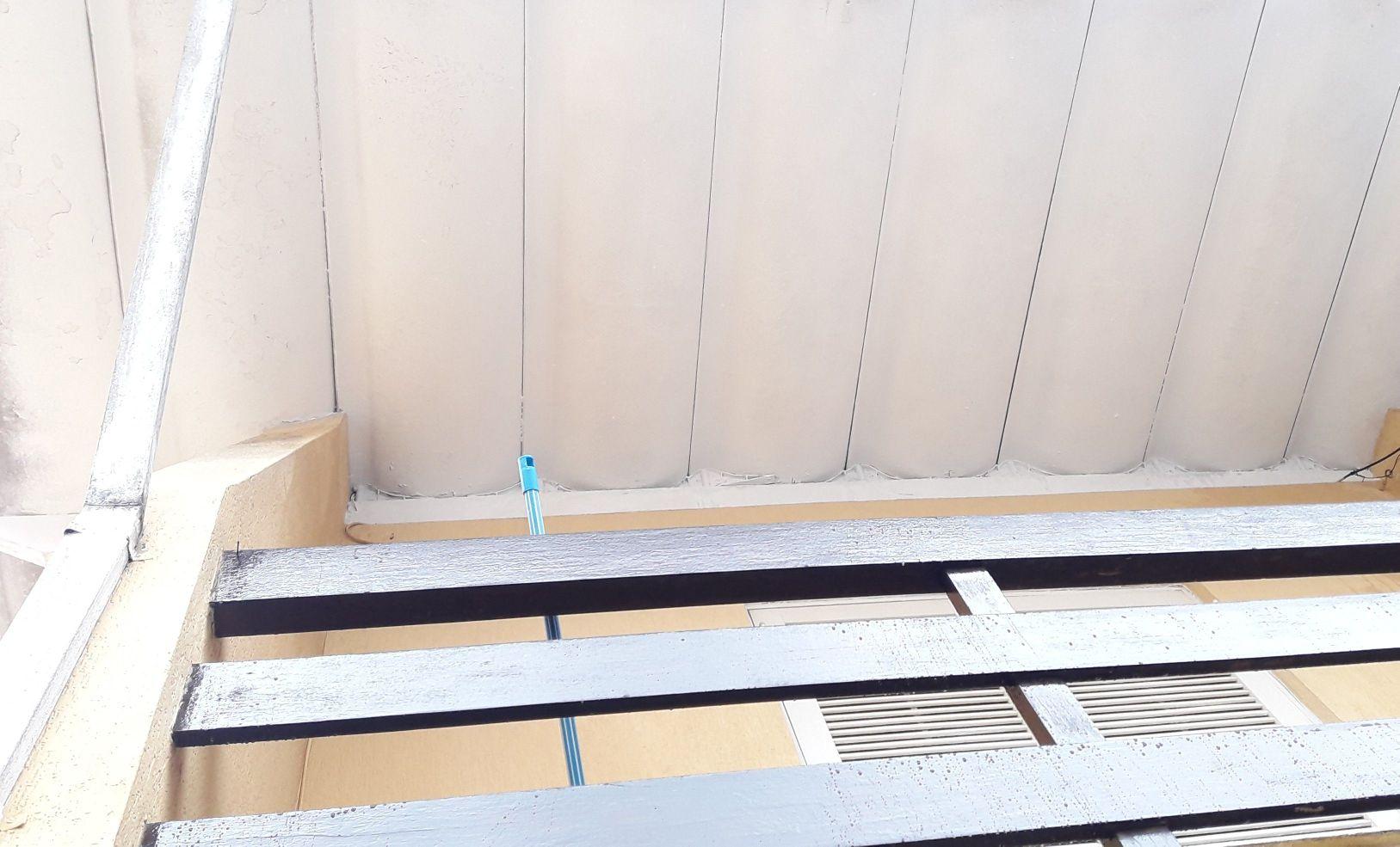 Telhado da varanda (Depois)