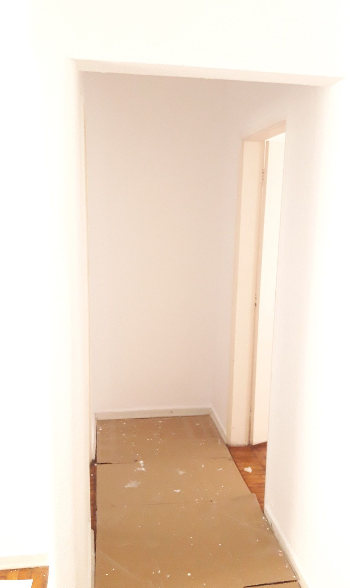 Pintura de corredor (Depois)