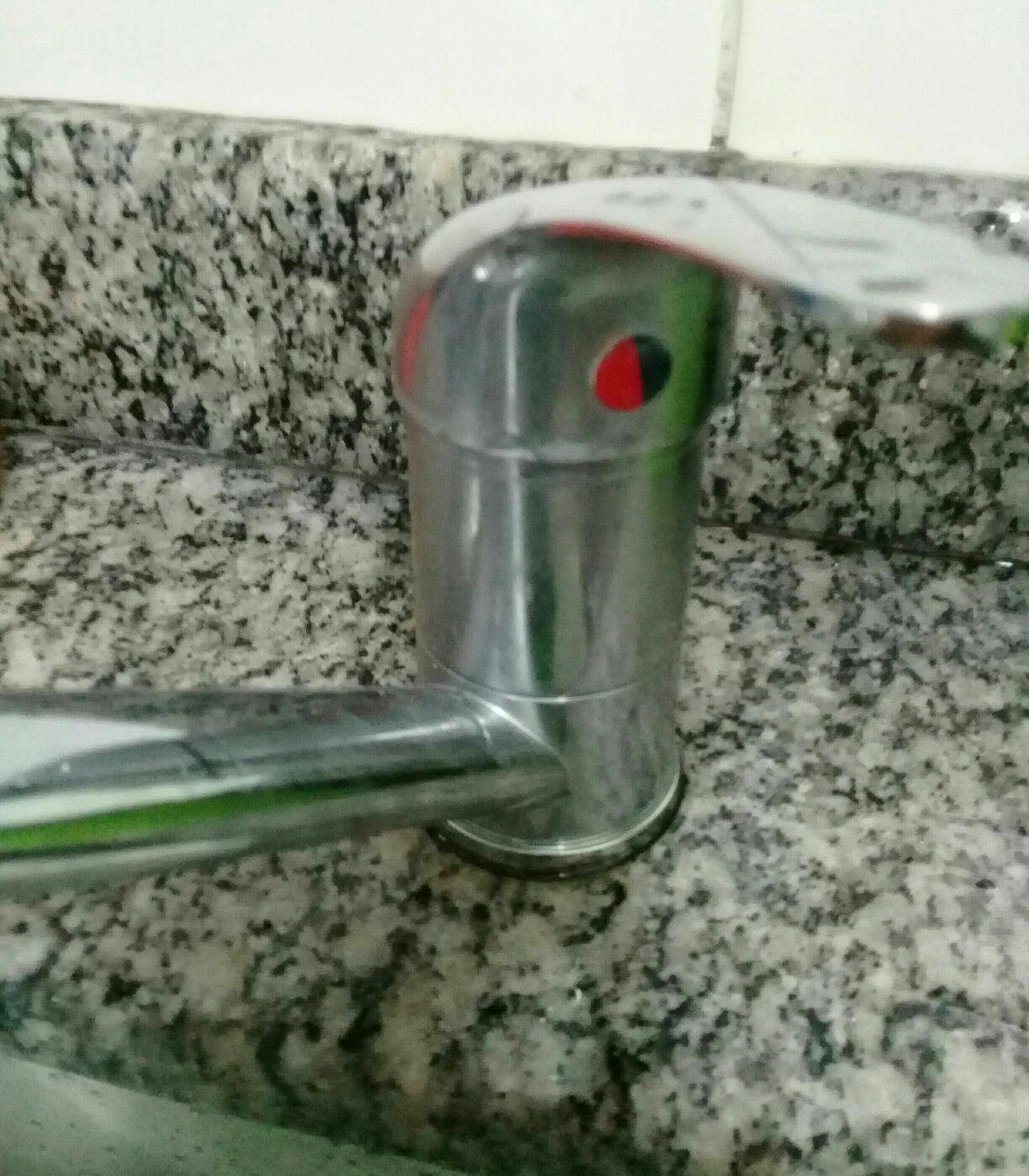 instalaçao de torneiras.