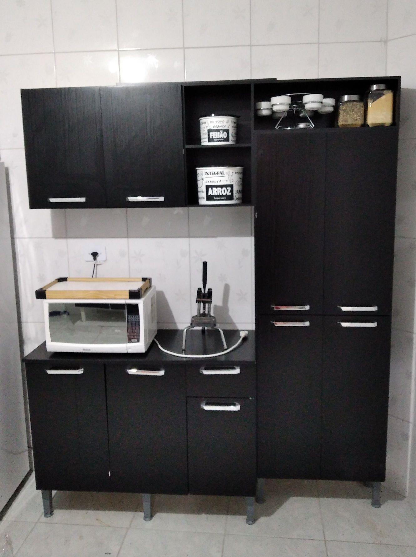 Montagem de cozinha para o Cliente Ricardo