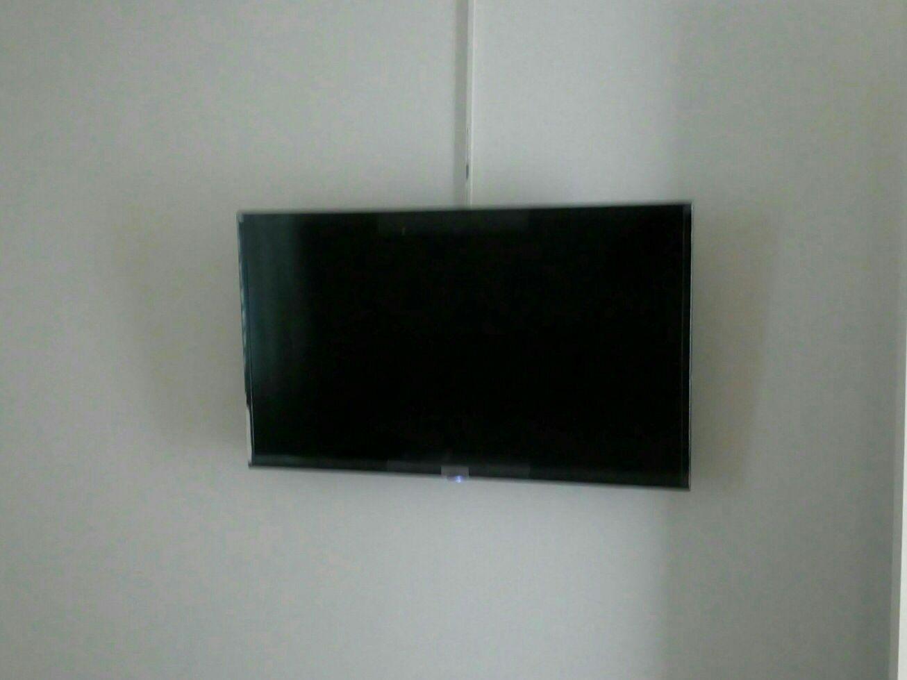 instalação de suporte para tv