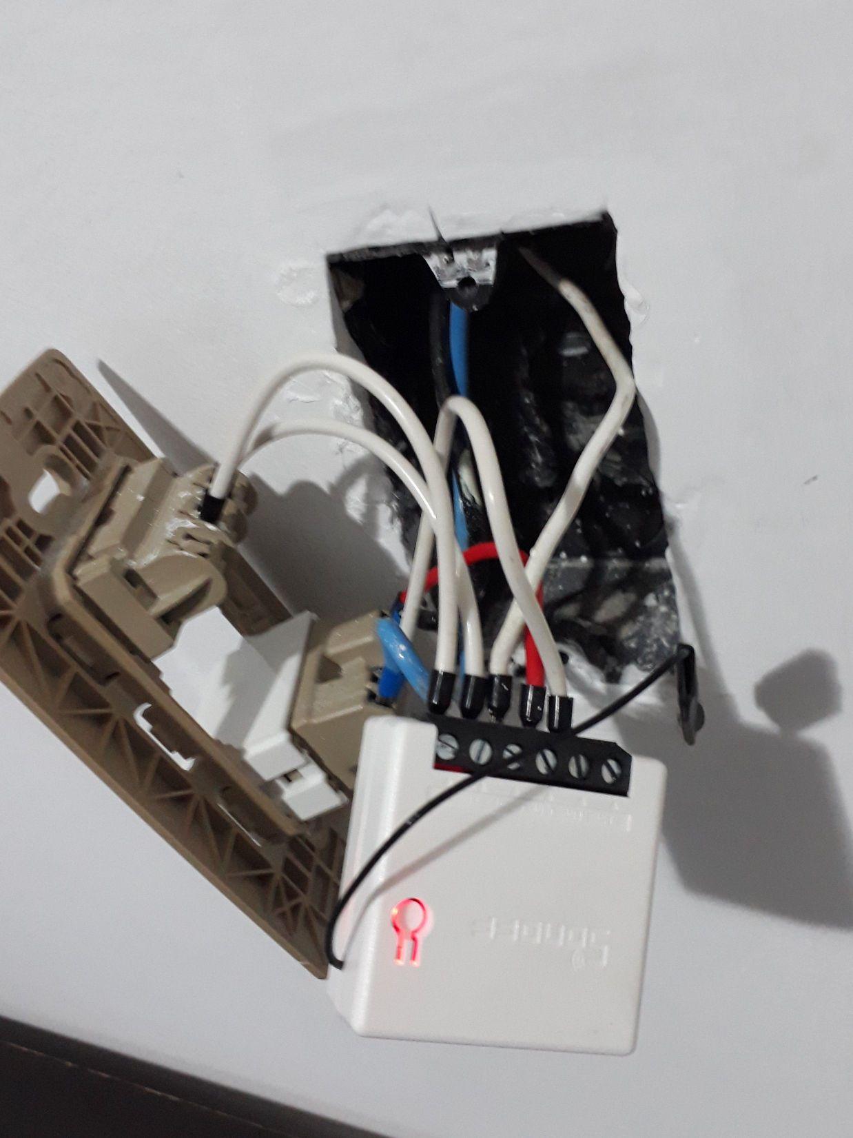 Instalação de Mini Sonoff