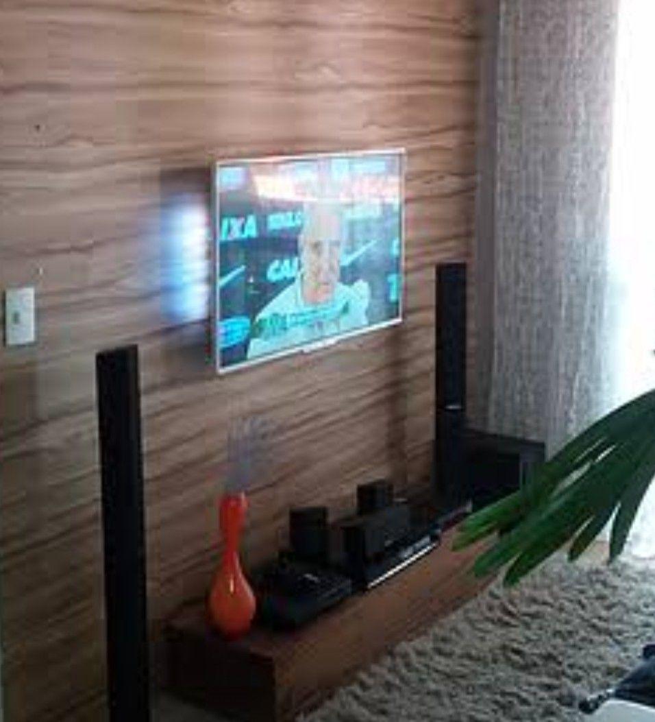 instalação de TV no painel + Home no móvel