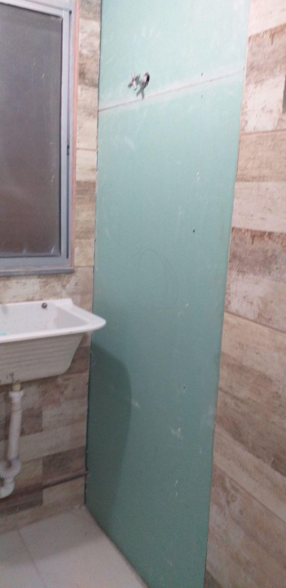 Fechamento de shaft em Drywall (depois)