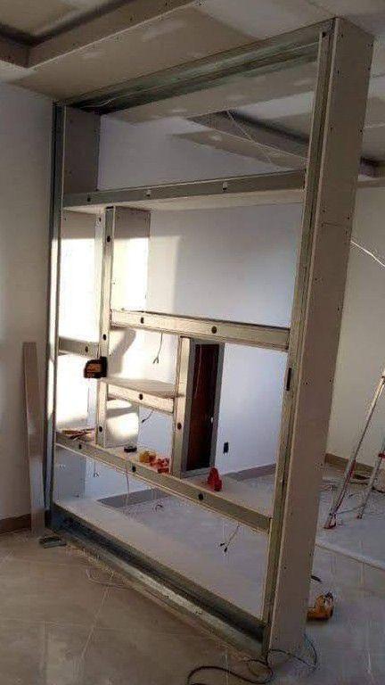 divisória decorativa em drywall