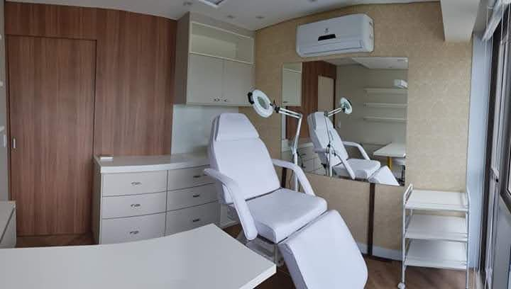 móveis planejados para consultório estético