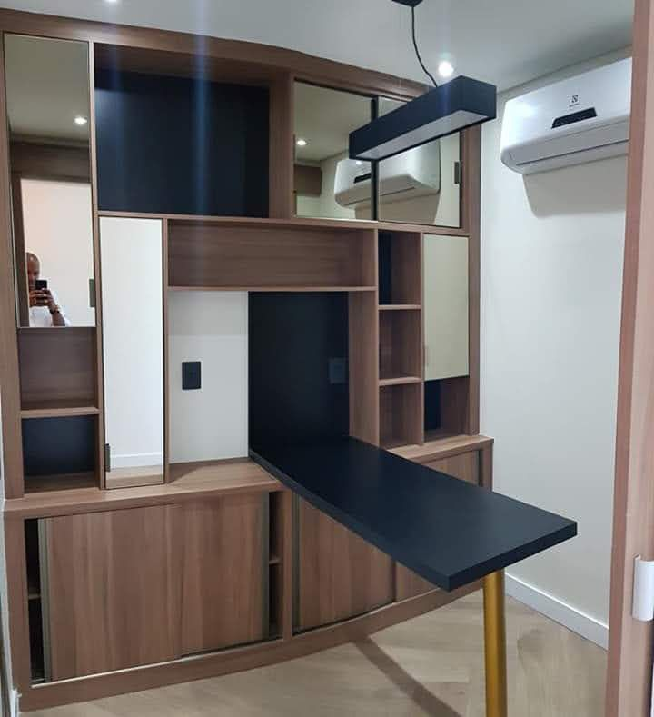 armário planejado pra consultório nutricional