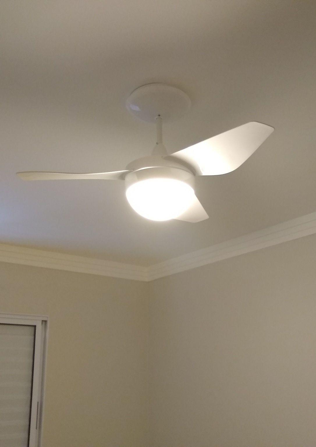 instalação de ventiladores