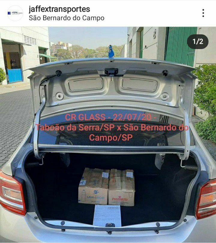 Entrega e coleta em São Bernardo do Campo/SP.