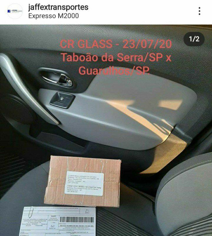 Entrega em uma Transportadora em Guarulhos/SP.