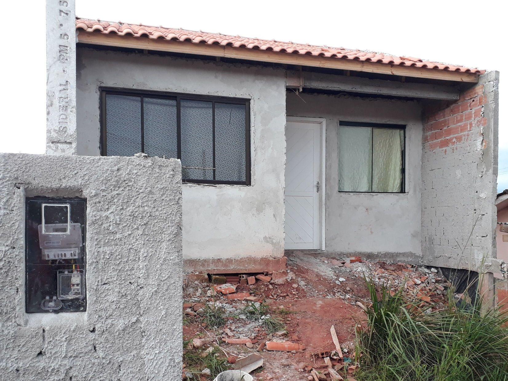 pequena casa em construção