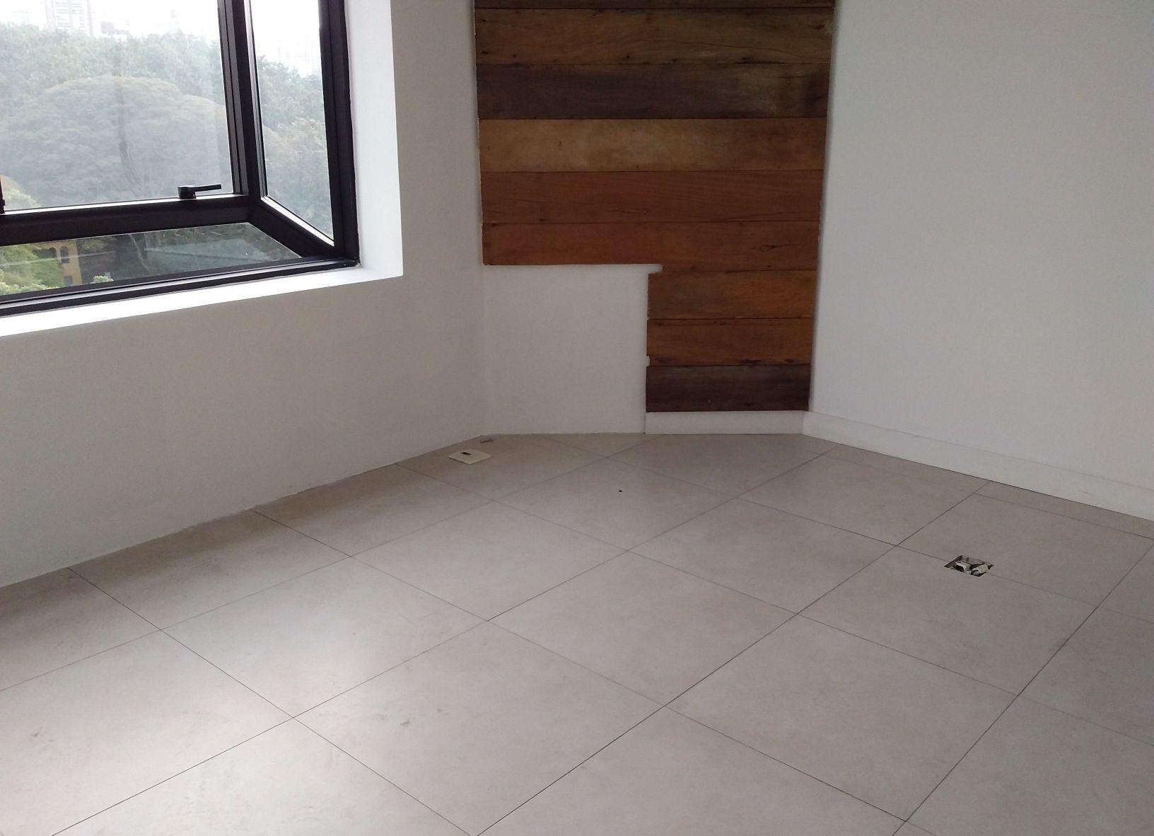 piso, pintura e instalacao de painel