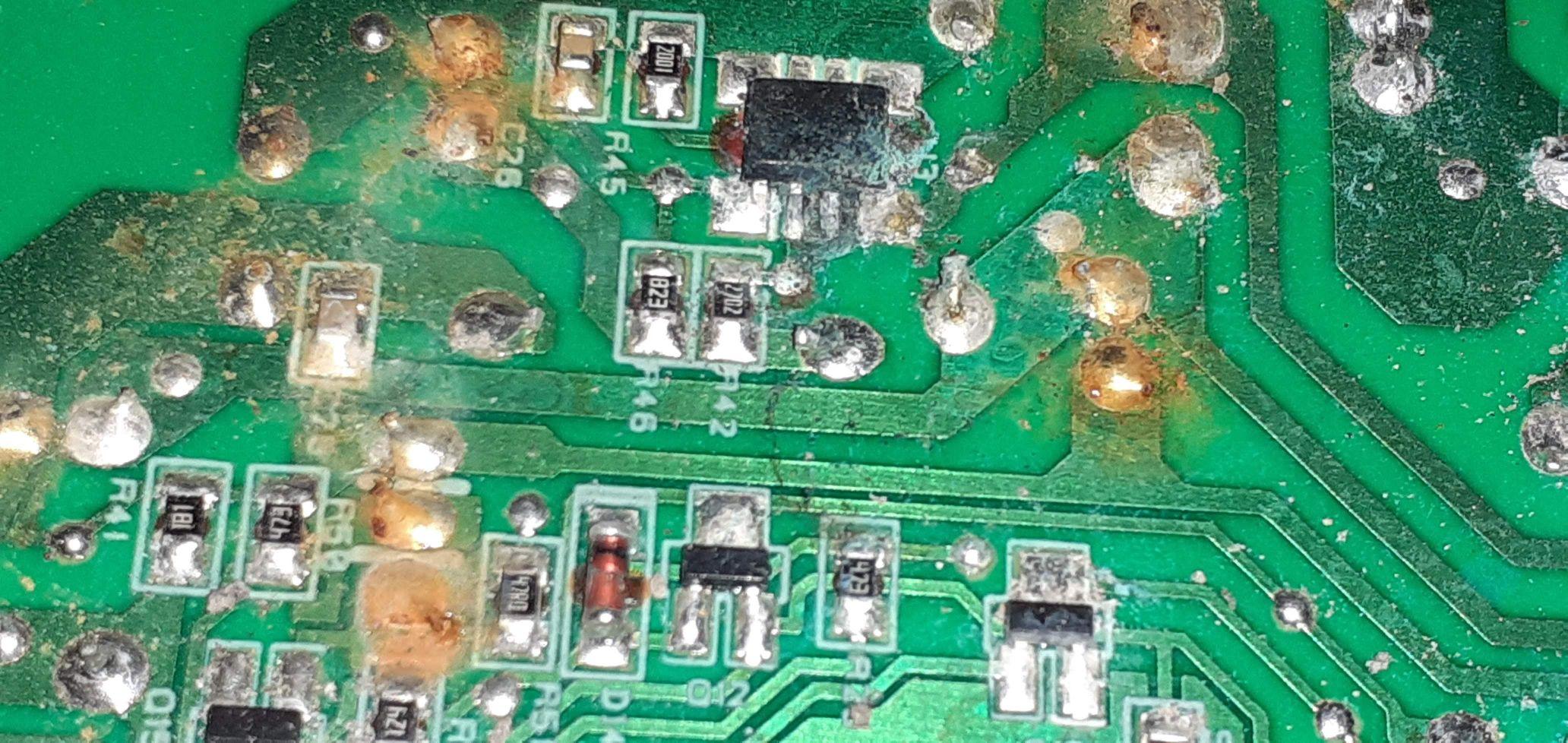 reparo de placa eletrônica