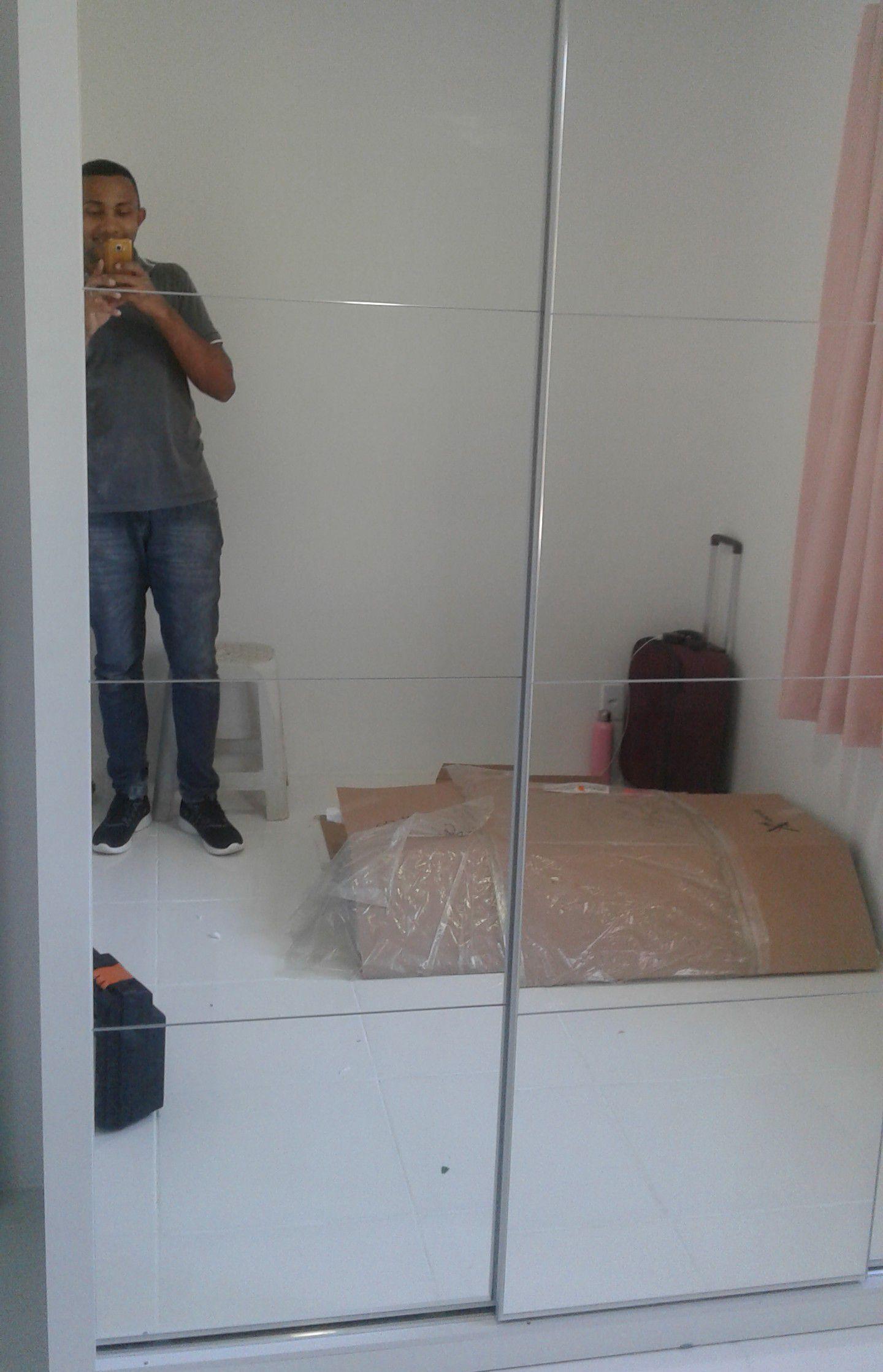 Guarda-roupas 12 espelhos