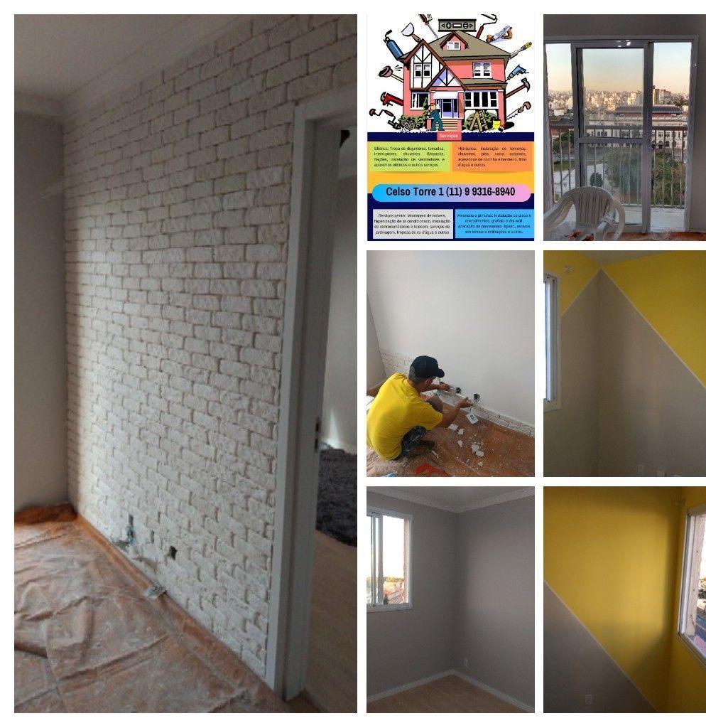 pintura e parede 3d