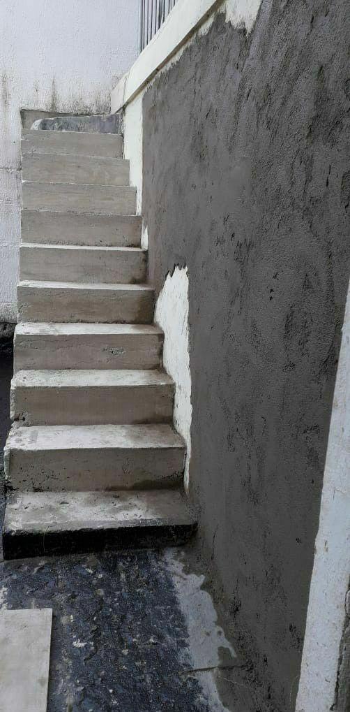 Escada concretada