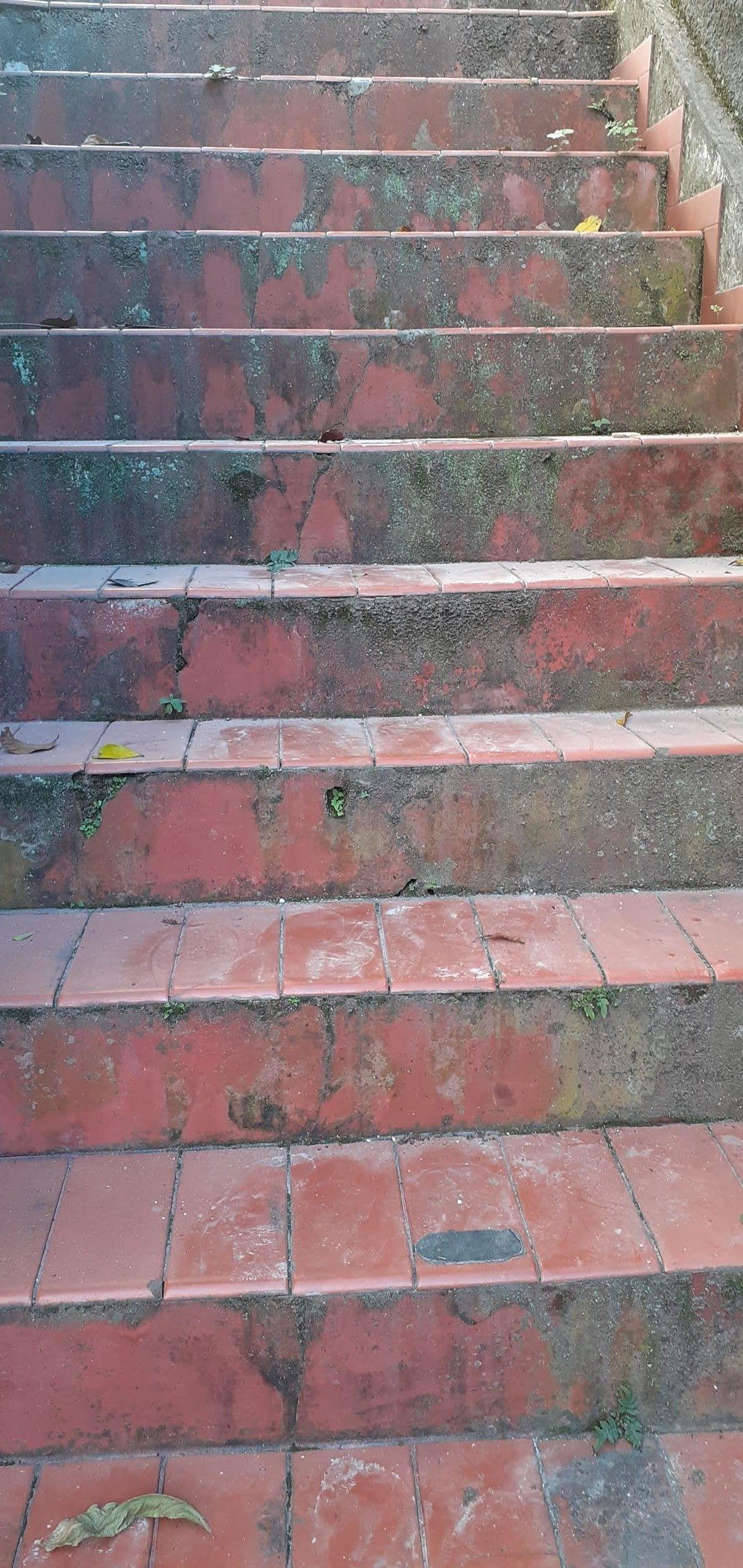 Recuperação de escada