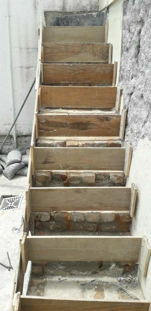 Revitalização de escada