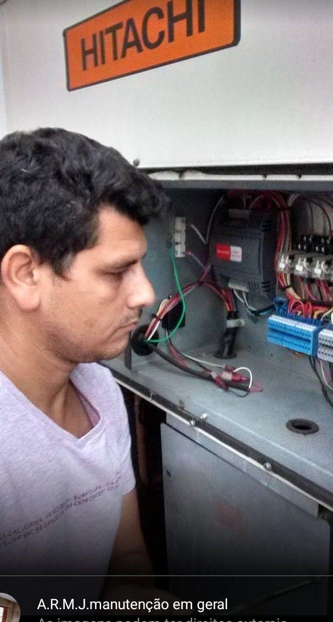 verificação na condensadora Hitachi do Chile