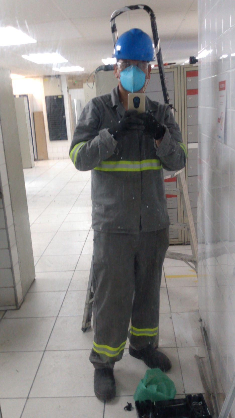 elétricista de manutenção  predial residencial