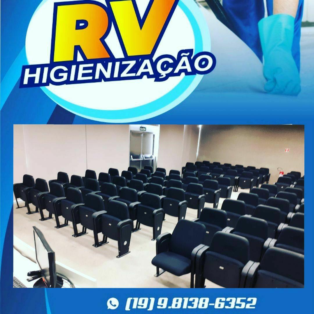 limpeza e higienização de Auditório