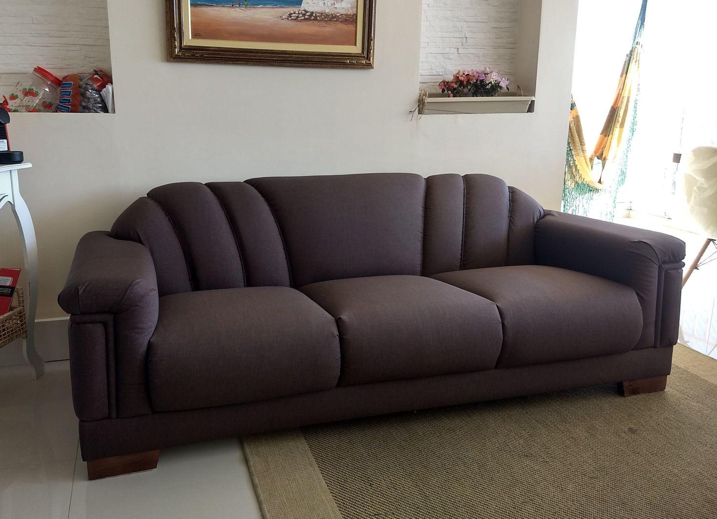 Reforma sofá Antigo utilizando tecido Acqua block