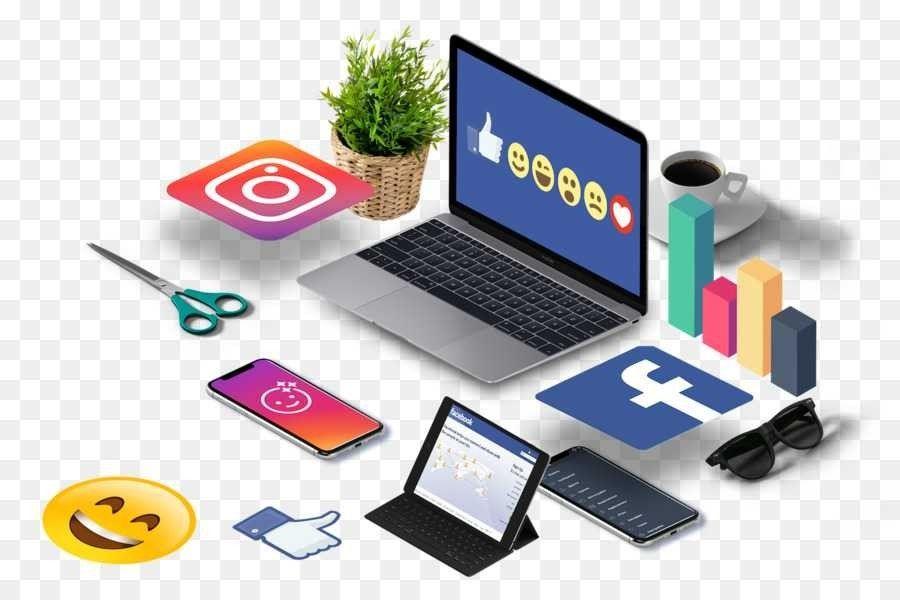 Criação de página e conteúdos em redes sociais