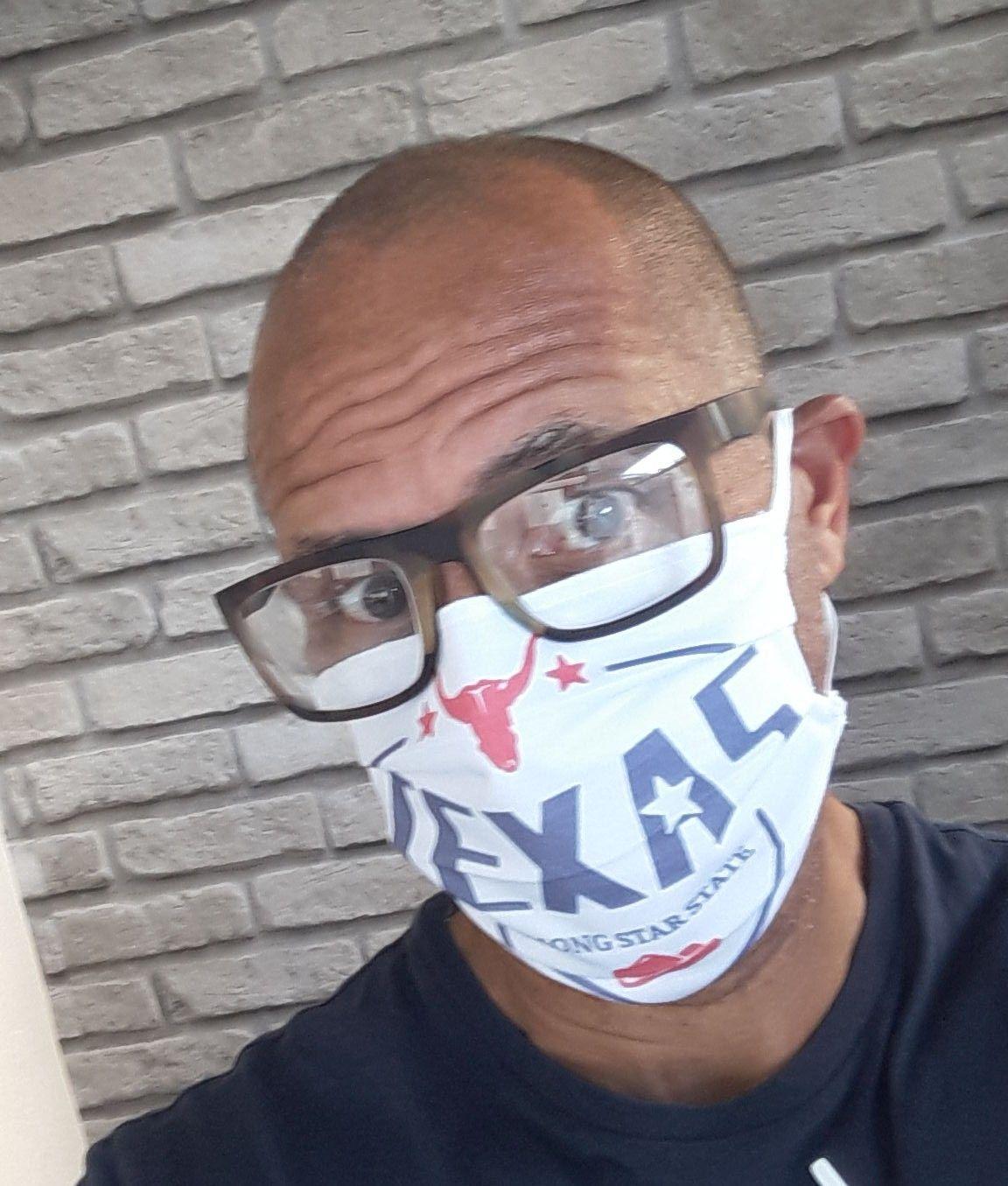 Máscara dupla proteção personalizada