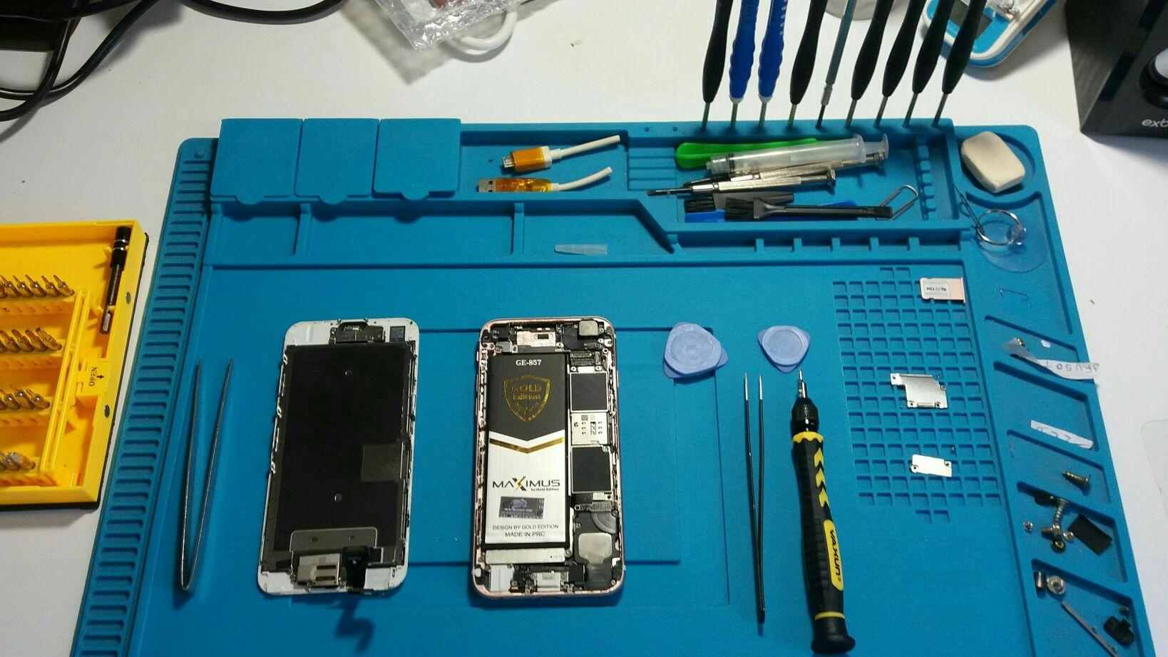 Laboratório manutenção em Celulares.