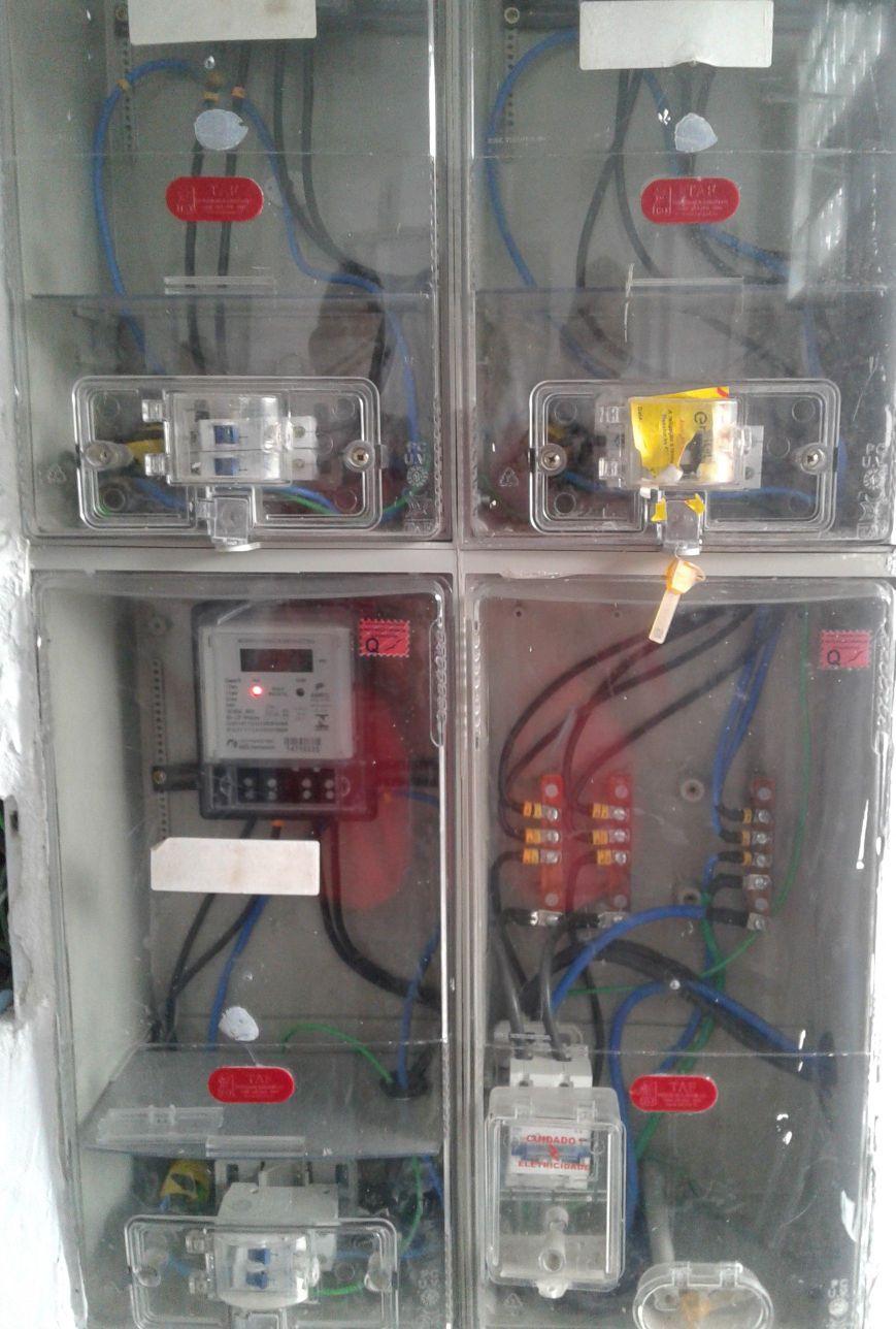 Medidor de energia (relógio)